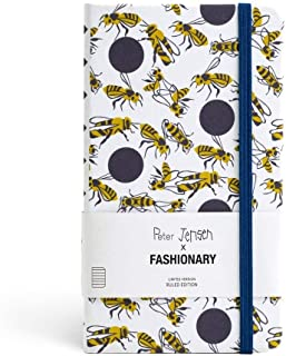 Peter Jensen X Fashionary Polka Bee Ruled Notebook A6