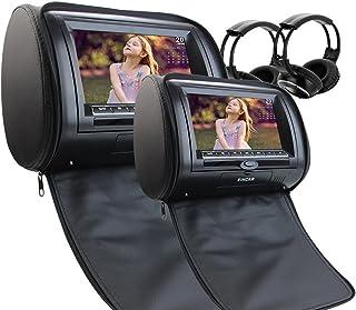 Gratuit 2 Casque infrarouge IR comprennent Transmetteur FM IR double voiture..