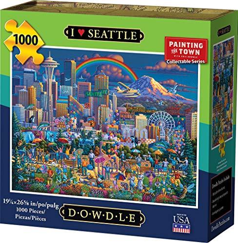 1000 piece puzzles seattle - 1