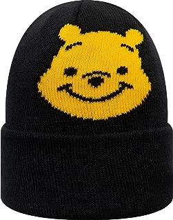 New Era Disney Character Knit Kids Winnie Pooh Navy Toddler Beanie Beany Wool Hat Kleinkind