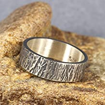 handmade mens wedding bands