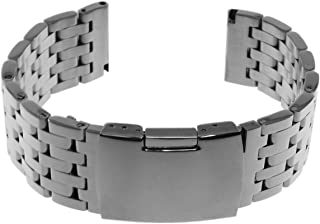 Rougois Stainless Steel Watch Band - 22mm