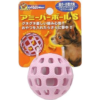 ドギーマン 犬用おもちゃ アミーバー ボール ピンク S サイズ