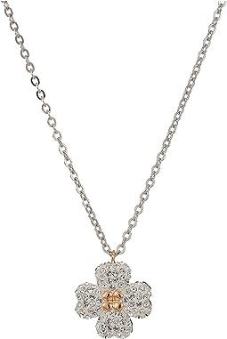 Latisha Flower Pendant Necklace