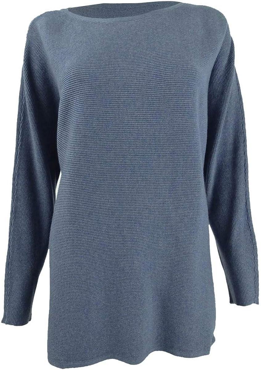 INC 有名な Womens Dolman Sleeves Jewel Pullover Sweater オーバーのアイテム取扱☆ Neck
