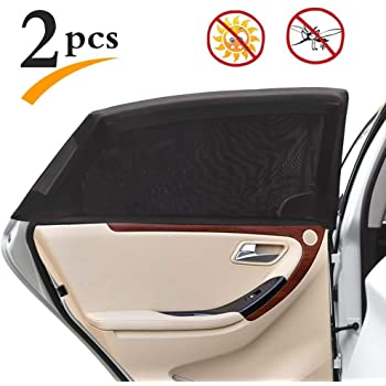 2Pcs Car Side Window Shades for Vehicles Window Shade Auto Sunshape for Kids L 2 Fansport Car Windows Sunshade for Baby Sun Protection Block for car Side Sunshade for Car Window Shade for Children