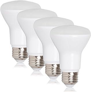 Maxxima LED BR20 50 Watt Equivalent Dimmable 7 Watt LED Warm White R20 600 Lumens, 3000K (Pack of 4)