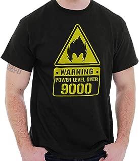 Warning Vegeta Power Level 9000 Super Alien T Shirt Tee