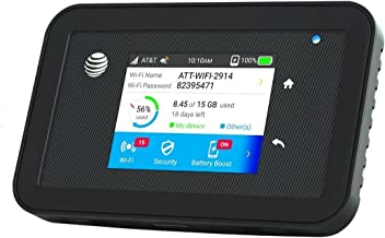 UNLOCKED AT/&T Unite 770S 4G LTE Sierra Netgear Mobile WIFI Hotspot 150Mbps NEW!