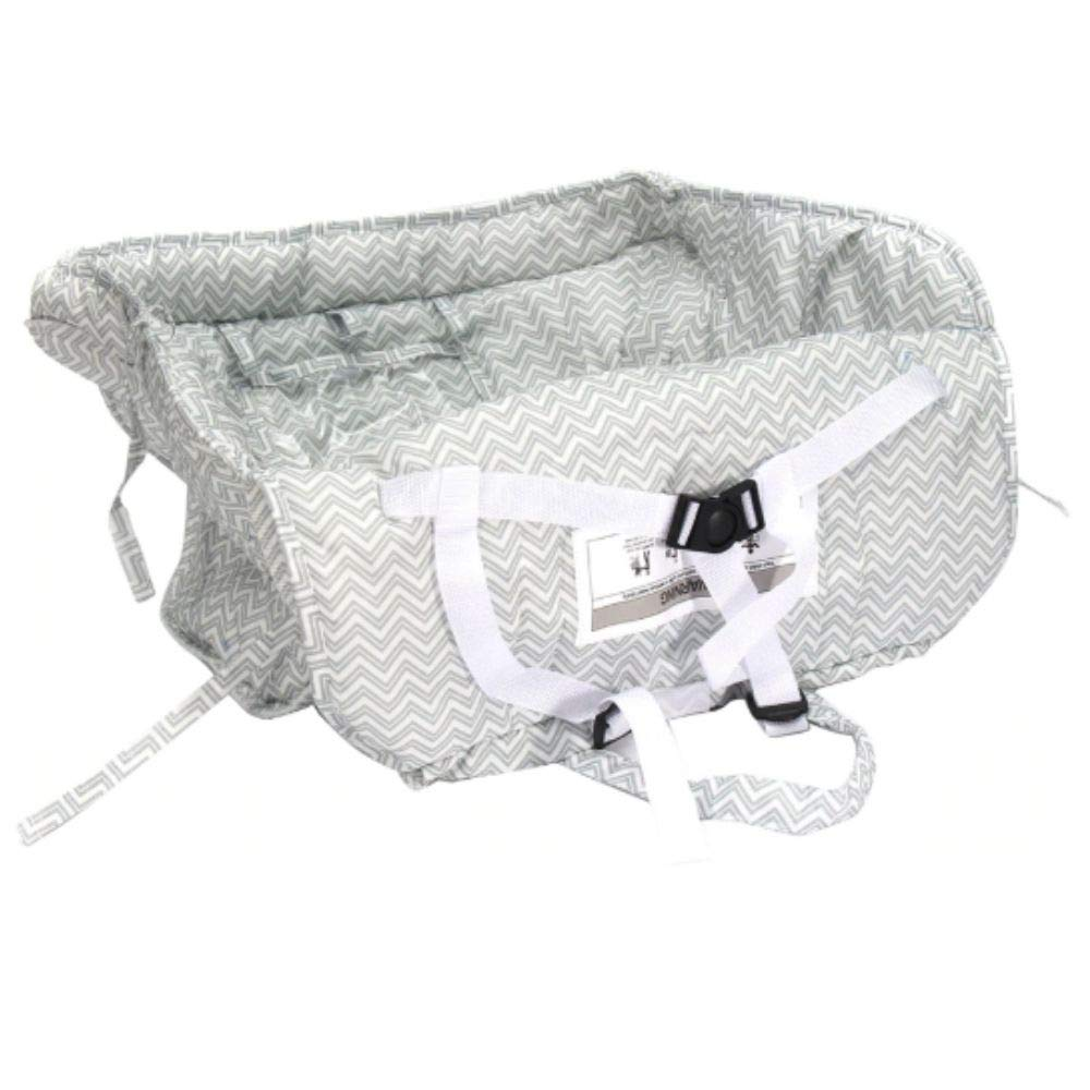 Shopping Cart Cover for Baby Toddler High Chair Cover Universal Fit Includes Carry Bag Fits Restaurant Highchair Machine Washable