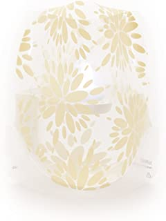 MODGY Luminary Lanterns 4-Pack - Floating LED Candles with Batteries Included - Luminaries are Great for Weddings, Parties, Patios & Celebrations of All Kinds (Ivory)