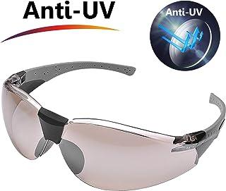 bf46c623be SAFEYEAR Gafas Ciclismo Hombre de Seguridad Protección de UV - Gafas de Sol  con Lentes Policarbonatos