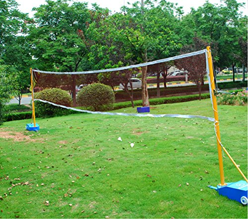 NKTM Outdoor Badminton Tournament Net for Garden Schoolyard Backyard (20 FT x 2.5 FT)