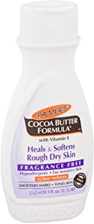 Palmer's Cocoa Butter Formula Lotion, Fragrance Free 8.50 oz (Pack of 3)