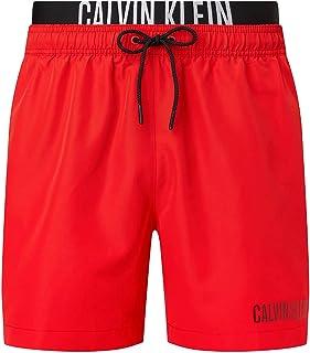 Calvin Klein Men's MEDIUM DOUBLE WB Swim Shorts
