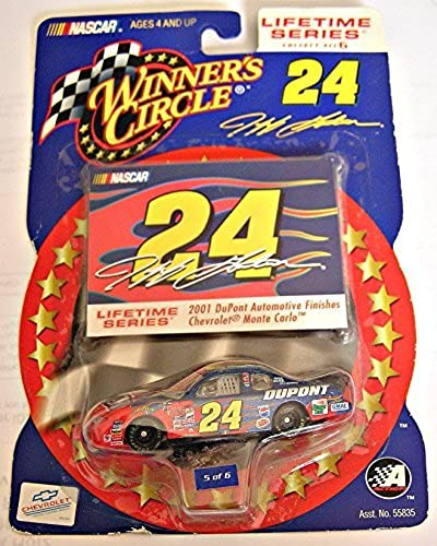 Winner's Circle, Lifetime Series, No. 5 of 6, Jeff Gordin  24 Chevy Monte Carlo 2001 by Winners Circle