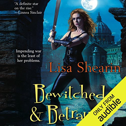 Bewitched & Betrayed      Raine Benares, Book 4              By:                                                                                                                                 Lisa Shearin                               Narrated by:                                                                                                                                 Eileen Stevens                      Length: 13 hrs and 25 mins     152 ratings     Overall 4.5