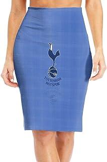 Tottenham Hotspur スカート シンプル タイト ペンシル ひざ下丈 スリット レディース スーツ セット