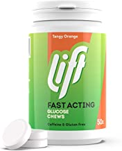Lift Fast-Acting Glucose Chewable Energy Tablets Orange 6 Pack of 50-Tablet Tubs Estimated Price : £ 16,21