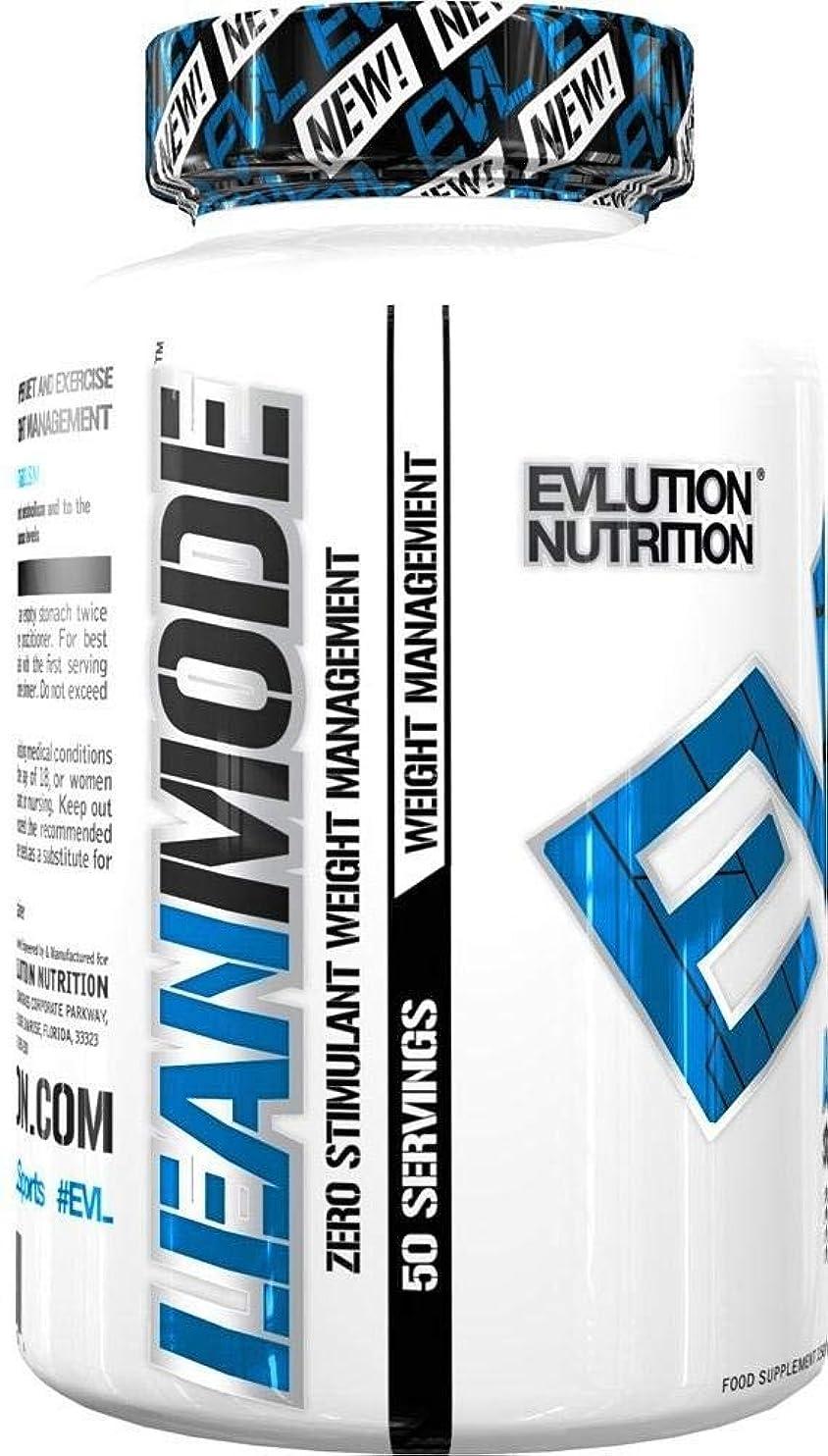 堤防時代戸棚EVLution Nutrition リーンモード(ウェイトロスサポートサプリ?刺激物なし)(150カプセル)(海外直送品)