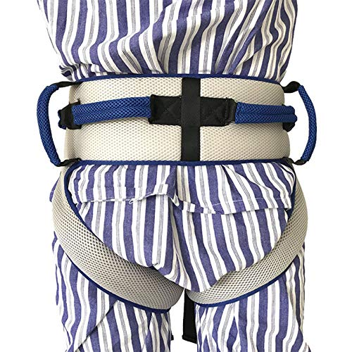 GGMWDSN CinturóN de Marcha para Caminar con Lazos de Pierna Dispositivo de Asistencia de Seguridad de EnfermeríA Cabestrillo de Transferencia para Personas Mayores, Discapacitados, BariáTricos