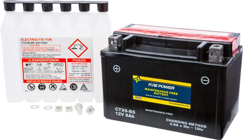 Fire Clearance SALE Limited time Power Maintenance Free Battery With CTX9-BS Max 58% OFF Kawa Compatible