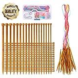 Best Knitting Needles Sets - Knitting Needles Set- RELIAN 36 Pcs 18 Sizes Review