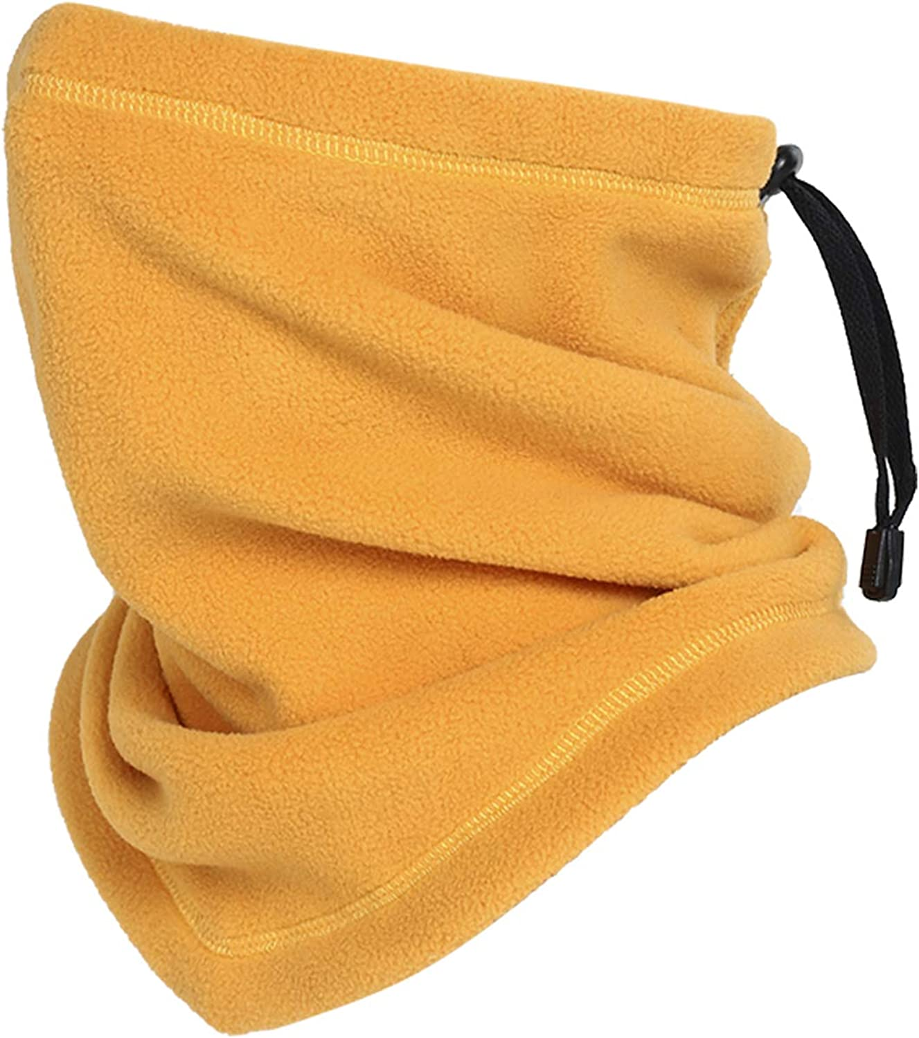 Omeneex Neck Warmer Drawstring Thick Neck gaiters for chilly col