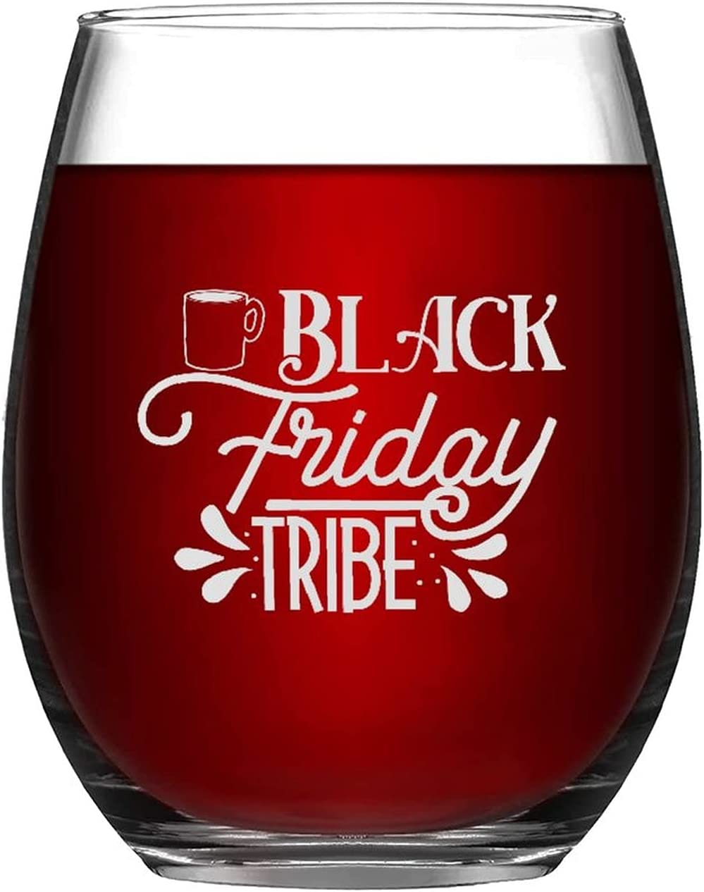 Stemless Max 61% OFF Wine Glasses Friday Tribe OFFicial site T Laser Autumn Engraved Glass