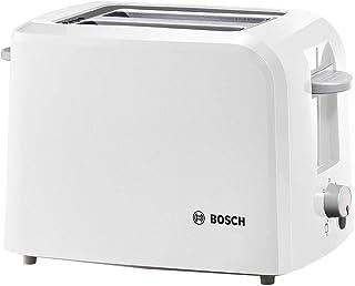 Bosch Hausgeräte Tat3A011 Kompaktowy Toster, 980 W, Biały