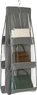 BCGT Vêtements Sac de Rangement Organisateur de Stockage de Sac à Main à Main Suspendue, Respirant Doux de Porte-poussière...
