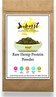 Hemp Protein Powder (8 oz.); Complete Source of Plant Protein; Contains All 10 Essential Amino Acids; Raw, Vegan, and Glut...