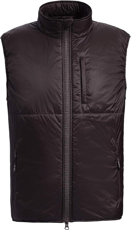 Men's Winter Lightweight Puffer Vest Water-Resistant