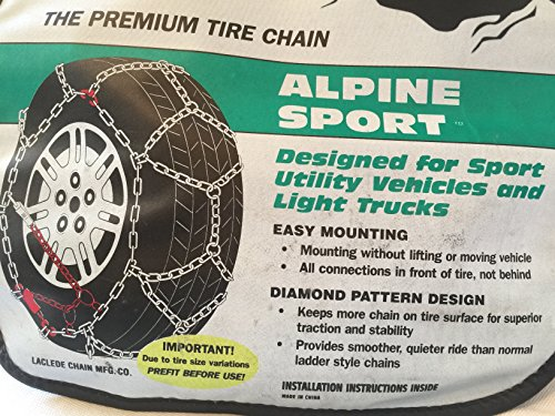 Laclede Chain 7022-321-07 Alpine Sport Light Truck and SUV Tire Chains
