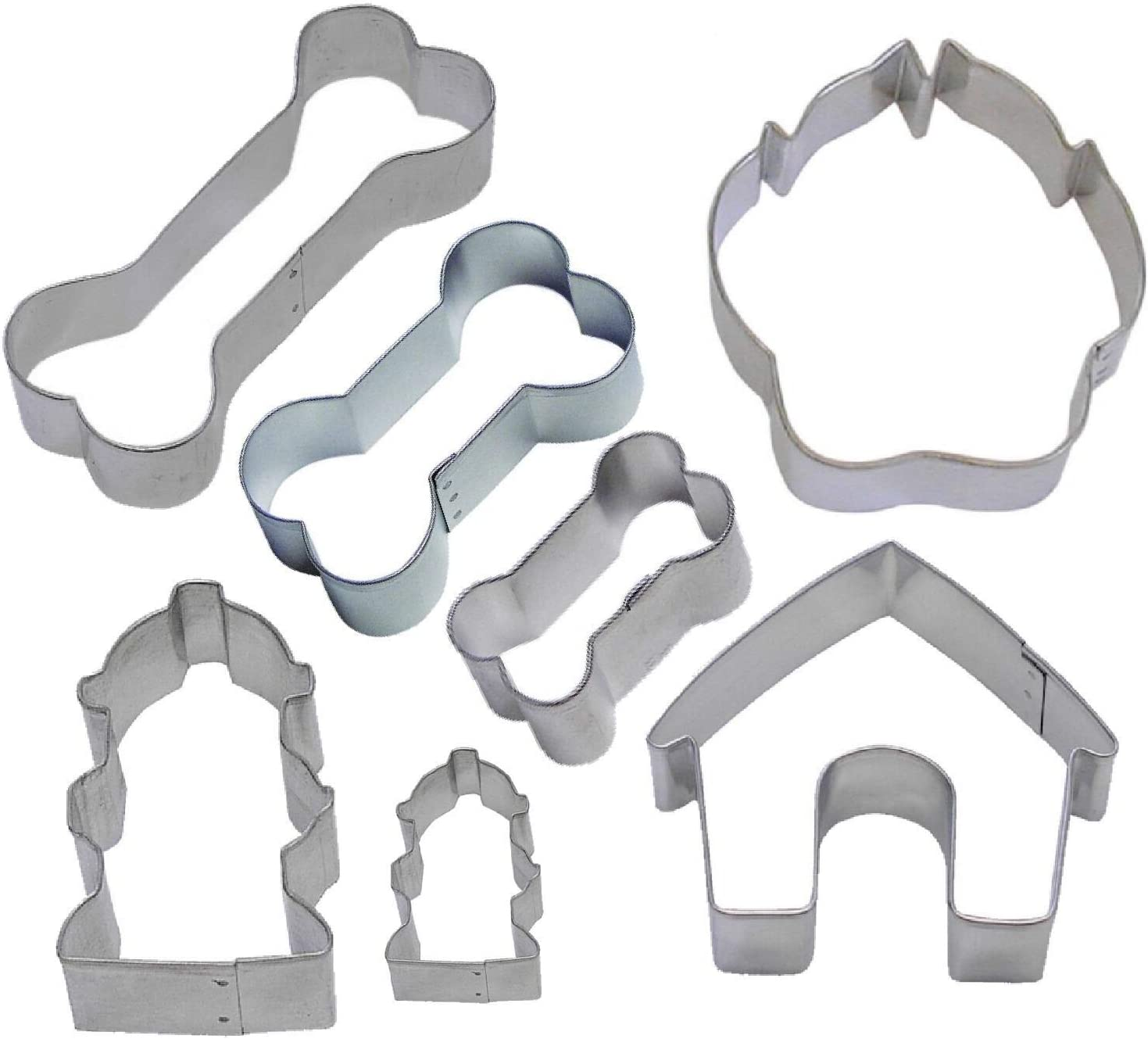 7 Piece Dog Lover Oklahoma Large-scale sale City Mall Cookie Cutter MichaelBazak - Variety Set Store