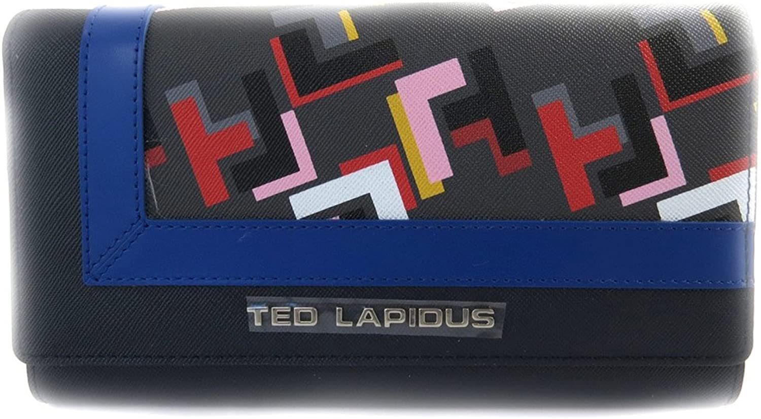 Wallet + checkbook holder 'Ted Lapidus' bluee.