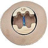Haibeir Hut-Stretcher, Hut-Dehner, verstellbar, robust, müheloszu verwenden, Größen: 16,5 cm bis 24,1 cm blau