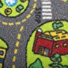 Kids Carpet Playmat Rug City Life Great for Playing with Cars and Toys - Play, Learn and Have Fun Safely - Kids Baby, Children Educational Road Traffic Play Mat, for Bedroom Play Room Game Safe Area #3