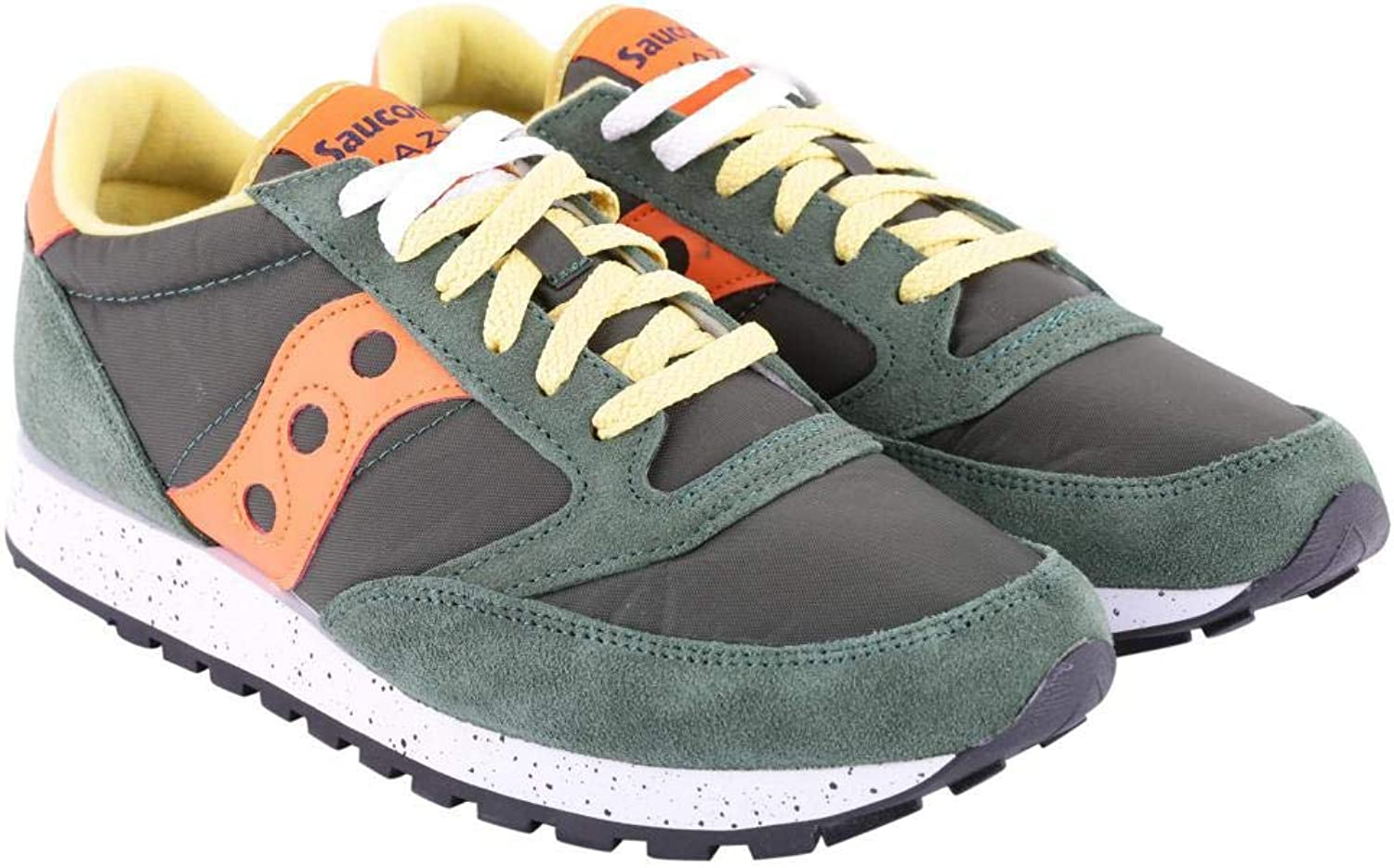 Saucony Men Jazz O' Sneakers green Arancione