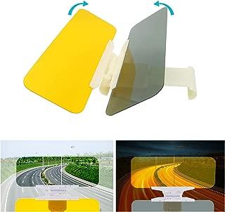 Anti Dazzle Car Visor Sun Visor Day and Night Glare Blocker Sunvisor Extension for Cars Reduce Glare from Sun Oncoming Headlights & Eye Protection 2 in 1 (2019 New Visor)