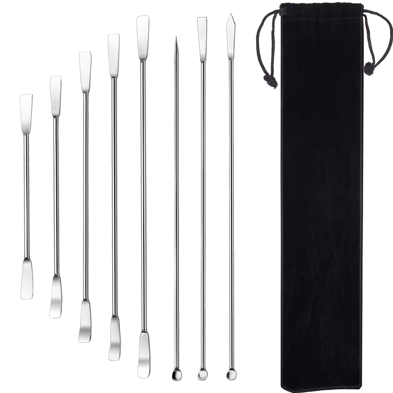 Lab Spatula Micro Scoop Max 44% OFF Steel Max 73% OFF Stainless for Po
