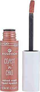 Essence Coast N Chill Velvet Matte Liquid Lipstick No. 01: 9g Liquid Lipstick for Silky, Smooth & Move Matte Lip Gloss.