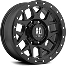 XD SERIES BY KMC WHEELS XD127 BULLY Wheel with BLACK and Chromium (hexavalent compounds) (17 x 9. inches /5 x 110 mm, -12 mm Offset)