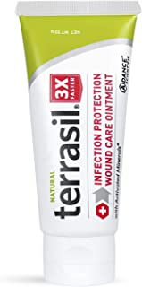 Terrasil Wound Care - 3X Faster Healing, Infection Protection for Bed sores, Pressure sores, Diabetic Wounds, Foot, Leg ul...