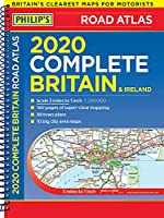 2020 Philip's Complete Road Atlas Britain and Ireland: (A4 Spiral Binding) (Philip's Road Atlases)