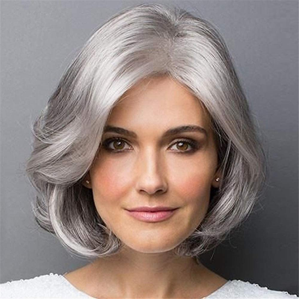 Hair Replacement Wig Stylish Wigs Women Max 54% OFF and Middle-aged for old New York Mall