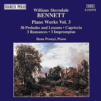 Bennett: Preludes and Lessons, Op. 33 / Capriccio, Op. 2 / Romances / Impromptus