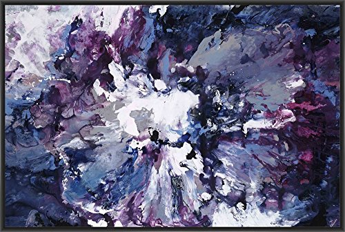 PTM Images 9-14386 Violet Waters Seduction, Canvas Wall Art, Black