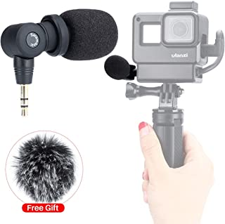 Saramonic SR-XM1 Mini Vlog Microphone for Gopro,Wireless Video Mic 3.5mm TRS Omnidirectional Microphone Plug and Play Mic for Gopro 7 6 5 DSLR Cameras, Camcorders, CaMixer, SmartMixer, LavMic Vlogging