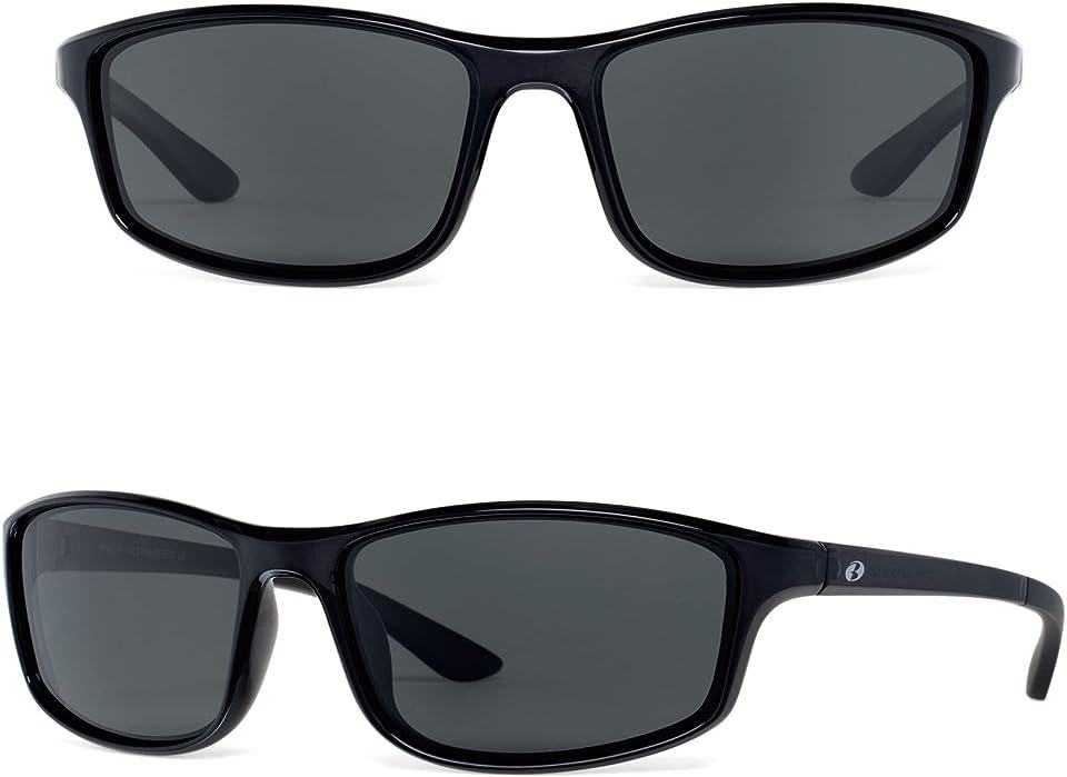 Bnus corning glass lens sunglasses for men & Women italy made polarized option